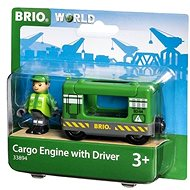 Brio World 33894 Freight locomotive with driver - Building Kit