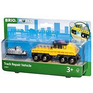 Brio World 33897 Track Repair Vehicle - Building Kit