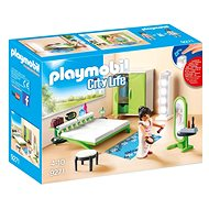 Playmobil 9271 City Life Living Room with Working Lights - Building Kit