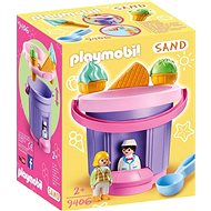 Playmobil 9406 Sand Ice Cream Kiosk - Building Kit