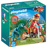 Playmobil 9431 Motorcycle velocirapter - Building Kit
