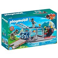 Playmobil 9433 Enemy Airboat with Raptor