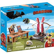 Playmobil Dragons 9461 Gobber with Sling - Building Kit