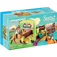 Playmobil 9478 Lucky & Spirit with Horse Stall