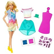 Barbie D.I.Y. Crayola Colour Stamp Fashions - Doll