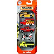 Matchbox British Firefighters, 5pcs - Toy car