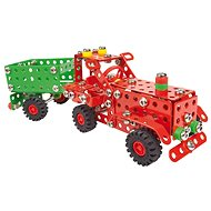 Alexander Small Constructor - Farmer Tractor with a Trailer - Building Kit