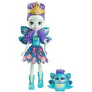 Enchantimals Doll with pet Patter Peacock - Doll