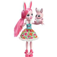 Enchantimals Bree Bunny Doll with Pet - Doll