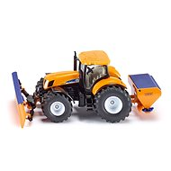 Siku Super Tractor with Snow Blade and Salt Gritter