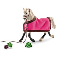 Schleich 41447 Arabic Mare with quilt - Figure Set