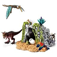 Schleich Dinosaurs in the cave, play set - Game set