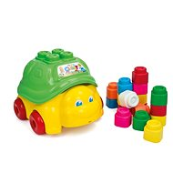 Clementoni Clemmy Baby - Pulling Turtle with 15 Cubes - Toy Vehicle