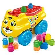 Clementoni Clemmy Baby - Tiger Wagon with Blocks - Toy Vehicle