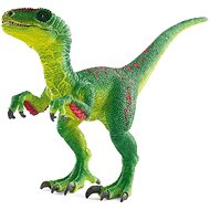 Schleich Prehistoric animal - Velociraptor with movable jaw and arms - Figurine