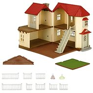 Sylvanian Families City House with Lights Gift Set D