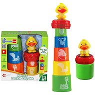 Stacking Cups with Duck - Educational Toy