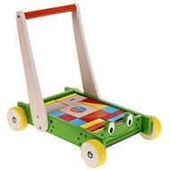 Woody Cart with dice and handle - Frog - Building Kit