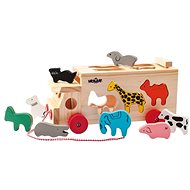 Woody Truck with Fitted Shapes - Animals - Puzzle