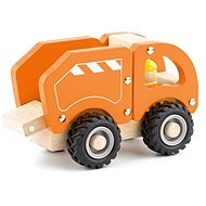 Woody Wooden Car - Garbage Truck - Toy Vehicle