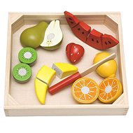 Woody Cutting board - fruit with melon - Educational toy