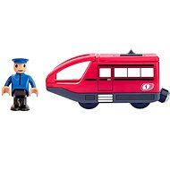 Woody Modern Electric Train - Red - Rail set accessory