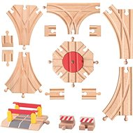 Woody Railway Accessories - Extended track set - Rail set accessory