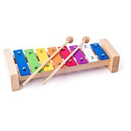 Woody Metal Xylophone - Musical Toy