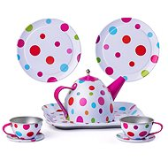 Woody Piknik basket with Tea Set, 8pcs - Children's toy dishes