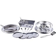 Woody baking set with a bundt cake pan - Children's toy dishes