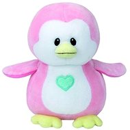Baby TY Penny - Pink Penguin - Plush Toy