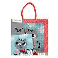 Avenue Mandarine Children's Embroidery with a Frame - Pussycat - Creative Kit