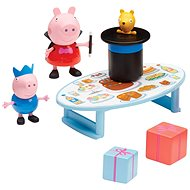 Peppa Pig - Set of magician + 2 figures - Game Set