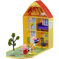 Peppa Pig - House with Garden + Figures and Accessories - Game Set