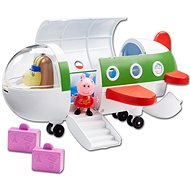 Peppa Pig - aeroplane and figure - Game Set