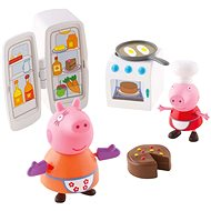 Peppa Pig - Kitchen Set + 2 Figures - Game Set