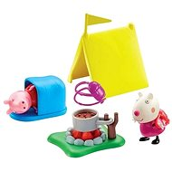 Peppa Pig's Camping Set + 2 figures - Play set