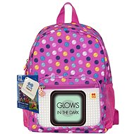 Pixie coloured dots (glow in the dark) - Backpack