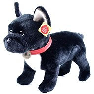 Rappa French Bulldog standing, 30cm - Plush Toy