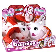 Bunnies Love Rabbits with Magnets - 2pc set - Plush Toy