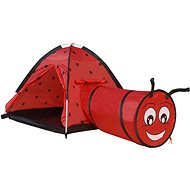 Tent Ladybird with Tunnel - Children's tent