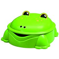 Green Frog with Cover - Sandpit