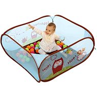 Ludi Playpen with Owl Balls - Children's furniture