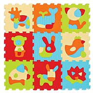Ludi 90 x 90cm Animals - Foam Puzzle