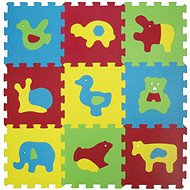 Ludi 84x84 cm Animals Basic - Foam Puzzle
