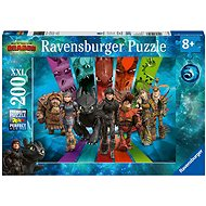 Ravensburger 126293 How to Train Your Dragon 3: Dragon Riders - Puzzle