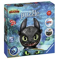 Ravensburger 3D 111459 Puzzle-Ball How to Train Your Dragon 3: Toothless - 3D puzzle