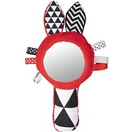 Contrasting whistle with SENSORY mirror - Toddler Toy