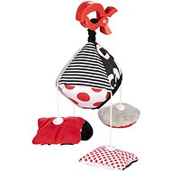 Contrast pendant toy with clip SENSORY - Pushchair Toy