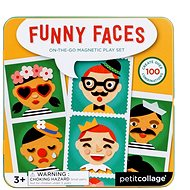 Petitcollage of cheerful face - Creative Toy